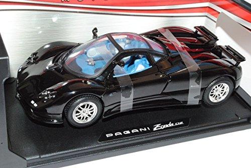 pagani-zonda-c12-coupe-schwarz-1-18-motormax-modelo-auto-mit-oder-ohne-individiuellem-wunschkennzeic