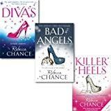 Rebecca Chance Rebecca Chance Collection 3 Books set, (Killer Heels, Divas and Bad Angels)