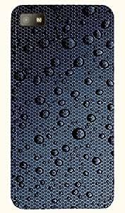 Marvelous multicolor printed protective REBEL mobile back cover for Blackberry Z10 D.No.N-T-4300-BBZ10