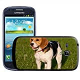 Fancy A Snuggle Beagle Dog Clip-on Hard Back Cover for Samsung Galaxy S3 Mini i8190