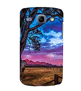 printtech Nature Cowboy View Back Case Cover for Samsung Galaxy On7