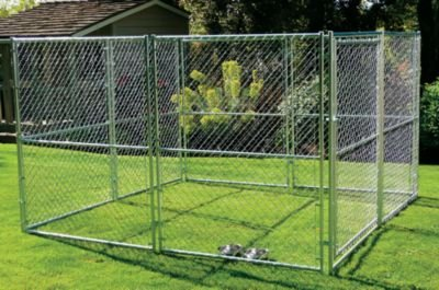 Lucky Dog 10 X 5 X 6 Chain Link Dog Kennel Super Cheap Luanth10523