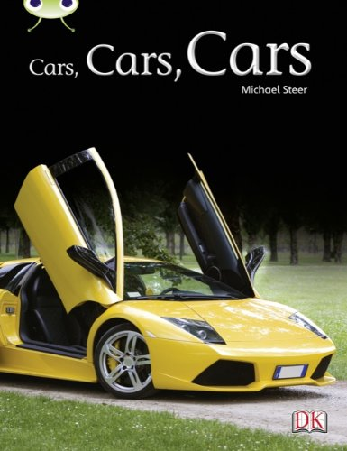 Cars, Cars, Cars (Turquoise A) NF (Bug Club)