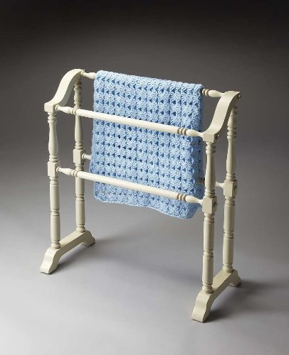 Blanket Rack (Cottage White) (33