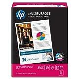 "HP Multipurpose Ultra White, 20lb, 8 1/2"" x 11"", 96 Bright, 500 Sheets/1 Ream, (112000)"