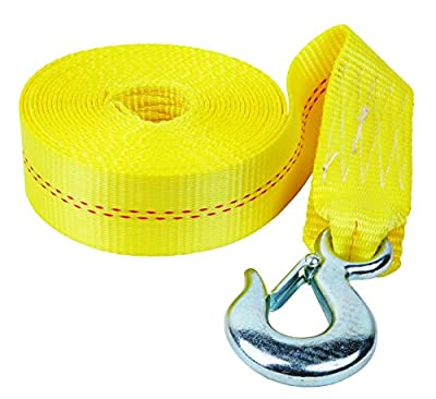 "Fulton (WS20HD0600) 2"" x 20' Heavy Duty Winch Strap with Hook"