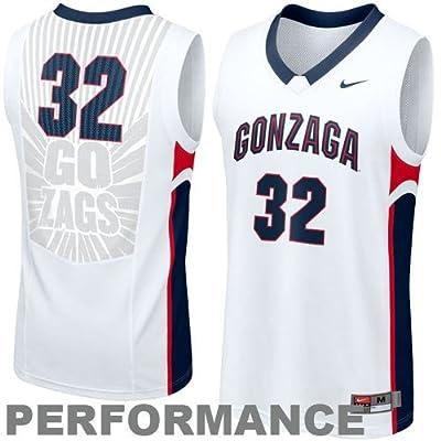 Gonzaga Basketball Jersey Replica Basketball Jersey