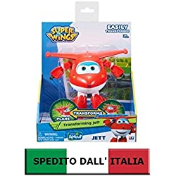 SUPER WINGS TRANSFORMING JETT - PRODOTTO ITALIA - AULDEY CARTOONITO