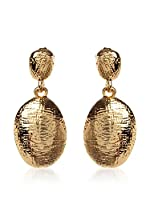 Amrita Singh Pendientes Lisa Hammered Drop