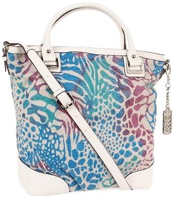 KATHY Van Zeeland Perfection Shoulder Bag,Vibrant Leopard,One Size