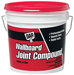 Dap 10102 wallboard joint compound 12 pound for Bathroom joint compound