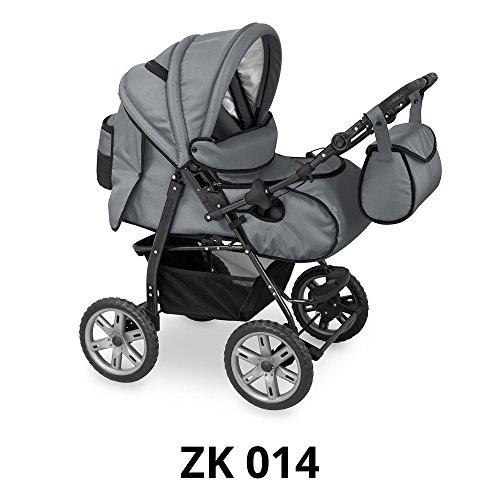 Kombi Kinderwagen Sportwagen in 15 Farbvarianten Hergestellt in der EU (ZK 014)