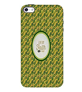 PrintDhaba Quote D-4237 Back Case Cover for APPLE IPHONE 5 (Multi-Coloured)