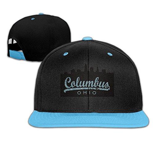 skyline-columbus-ohio-kids-adjustable-snapback-hat-baseball-caps