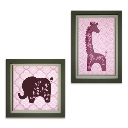 Lambs & Ivy Wall Decor, Lavender Jungle