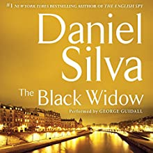 The Black Widow Audiobook by Daniel Silva Narrated by George Guidall