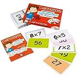 France Cartes - 410012 - Jeu de cartes - Carta toto Multiplications - Modèle aléatoire