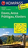 Davos - Arosa - Prättigau - Klosters: Wanderkarte. GPS-genau. 1:40000 (KOMPASS-Wanderkarten)
