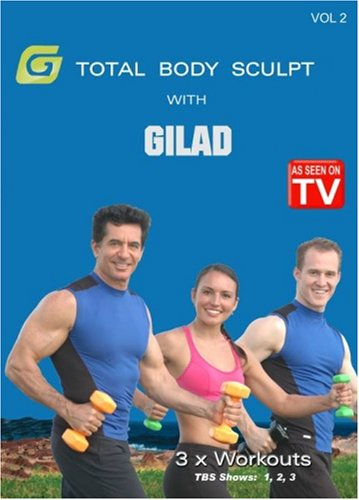 Gilad: Total Body Sculpt Workout 2 [DVD] [2007] [US Import]