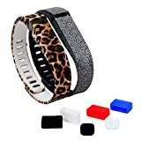 DigiHero 2 pcs Large Size Wristbands Replacement Band With Clasps for Fitbit FLEX Only /No tracker/ Wireless Activity Bracelet Sport Wristband Fitbit Flex Bracelet Replacement Arm Band Armband