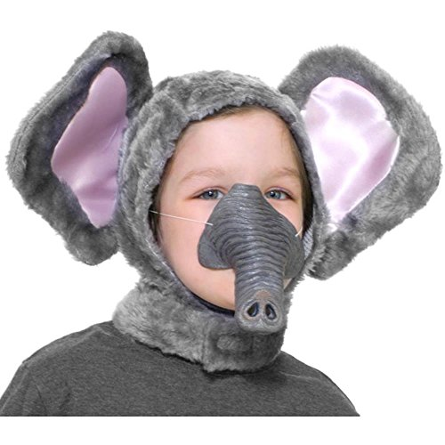 Child's Circus Animal Elephant Costume Kit