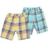 Bobson(ボブソン) ハーフパンツ (80~130cm) キムラタンの子供服 (77176x77676-161b) イエロー 100 ランキングお取り寄せ