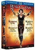 Image de Coffret intégrale Resident evil - 4 films [Blu-ray]