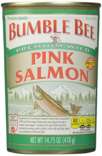 Bumble Bee Pink Salmon, 14.75 oz (Bumble Bee Canned Salmon compare prices)