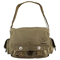 Kansas City Chiefs NFL Prospect Deluxe Messenger Bag from ISFB2B