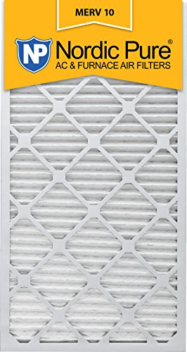 Nordic Pure 20x30x1 MERV 10 Pleated AC Furnace Air Filter,  Box of 6
