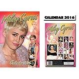 Miley Cyrus 2016 Wall Calendar