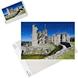 Photo Jigsaw Puzzle of Raglan Castle, Monmouthshire, Wales, United Kingdom, Europe from Robert Harding