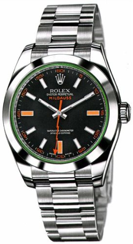 Rolex Milgauss Anniversary Edition Mens Watch 116400-Gv