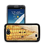 Luxlady Premium Samsung Galaxy Note 2 Aluminum Backplate Bumper Snap Case IMAGE ID 21431263 socket with corn concept for alternative source of energy