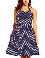 Polka Twist - Robe Style Rockabilly Swing des Années 50 Pin Up à Pois Fête