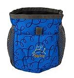 OllyDog Treat Bag Pro, Large, Blue Loops