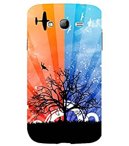 printtech Nature Abstract Tree Back Case Cover for Samsung Galaxy Grand i9080 / Samsung Galaxy Grand i9082