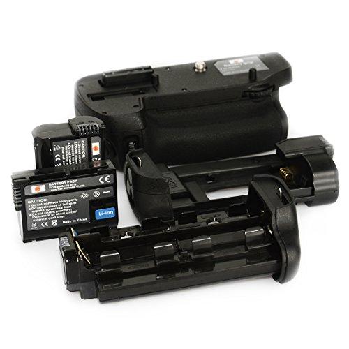 DSTE Multi-Puissance Vertical Batterie Poignée Titulaire pour Nikon D7100 D7200 DSLR Caméra comme MB-D15 avec 2-pack EN-EL15