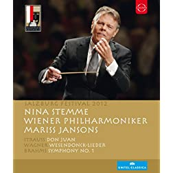 Salzburg Festival 2012: Strauss, Wagner, Brahms (Blu Ray) [Blu-ray]