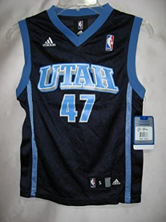 Andrei Kirilenko Utah Jazz Navy NBA Youth Replica Jersey by adidas
