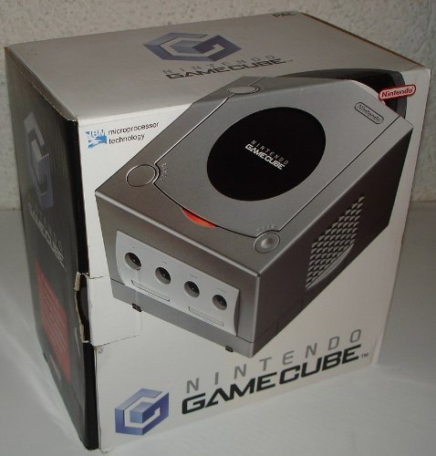 GameCube Silver console - GameCube - PAL