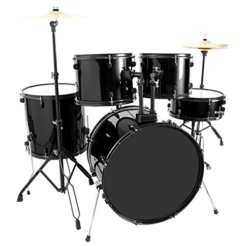 5-piece-full-size-complete-adult-drum-set-with-cymbal-throne-stool-new-drum-kits