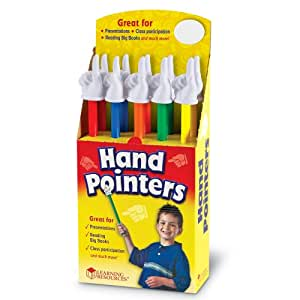 Hand Pointers, Set of 10