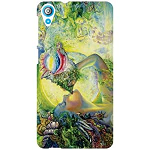 HTC Desire 820 Back Cover - Spirituality Designer Cases