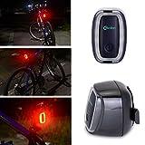 WOLFTEETH リアライト 自転車 補助 USB充電 セーフティ LEDライト ダブル感応 テールライト 自転車用バックライト ブラック 408001