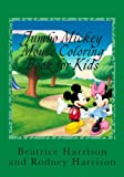 Jumbo Mickey Mouse Coloring Book for Kids