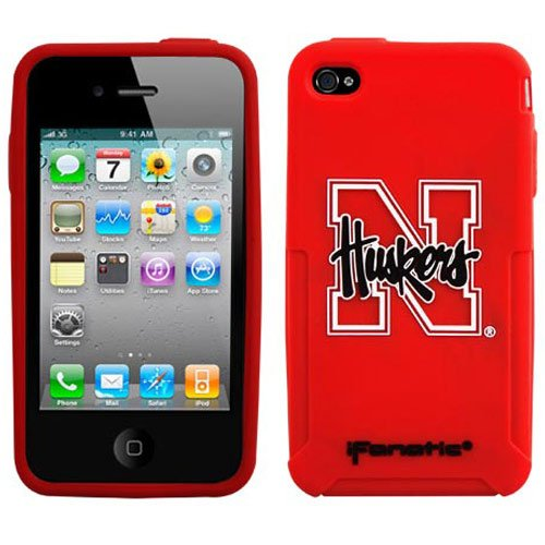 NCAA Nebraska Cornhuskers Mascotz Cover for iPhone 4