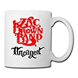 White Uncaged Zac Brown Band Cute Mugs Espresso Cups,Mug Printing,Unique Mug,Large Mugs,White Coffee Mugs,Coffee Mugs,Mugs,Personalized Mugs,Photo Mugs Unique Mugs