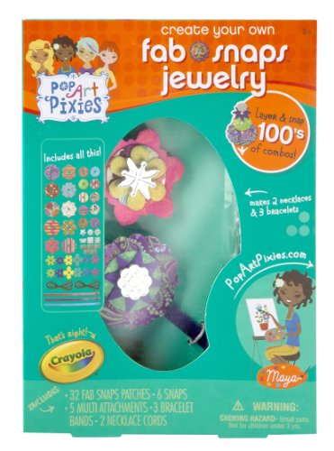 Crayola Pop Art Pixies Fab Snaps Jewelry