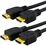 HDMI Cable, 6 ft. (2-Pack)